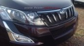 2015 Mahindra XUV500 facelift headlight spied