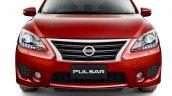 2015 Nissan Pulsar SSS sedan front view press image