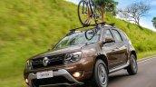2015 Renault Duster facelift front quarter Brazil