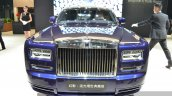2015 Rolls Royce Phantom Limelight Collection front at the Auto Shanghai 2015