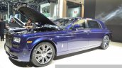 2015 Rolls Royce Phantom Limelight Collection side three quarter at the Auto Shanghai 2015