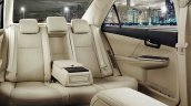 2015 Toyota Camry rear cabin official image