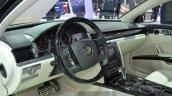 2015 Volkswagen Phaeton interior at Auto Shanghai 2015