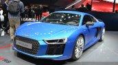 2016 Audi R8 V10 Plus front three quarter at Auto Shanghai 2015