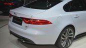 2016 Jaguar XF boot at the 2015 New York Auto Show