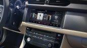 2016 Jaguar XF center console official image
