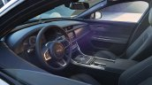 2016 Jaguar XF dashboard at the 2015 New York Auto Show