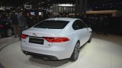 2016 Jaguar XF rear three quarter at the 2015 New York Auto Show