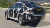 2017 Fiat Linea rear quarter spied