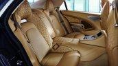 Aston Martin Lagonda Taraf rear seats