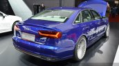 Audi A6 L e-tron rear three quarter at Auto Shanghai 2015