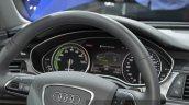 Audi A6 L e-tron instrument cluster at Auto Shanghai 2015 (2)