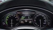 Audi A6 L e-tron instrument cluster at Auto Shanghai 2015
