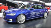 Audi A6 L e-tron side angle at Auto Shanghai 2015