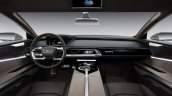 Audi Prologue allroad concept dashboard
