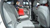 Audi Q7 e-tron 2.0 TFSI quattro rear seat at Auto Shanghai 2015