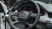 Audi Q7 e-tron 2.0 TFSI quattro steering wheel at Auto Shanghai 2015