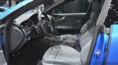 Audi RS7 front seats at Auto Shanghai 2015