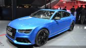 Audi RS7 front three quarter at Auto Shanghai 2015