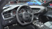 Audi RS7 interior at Auto Shanghai 2015