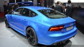 Audi RS7 rear three quarter at Auto Shanghai 2015