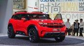 Citroen Aircross Concept front three quarter at Auto Shanghai 2015