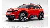 Citroen Aircross concept official image front three quarter