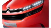 Citroen Aircross concept official image headlamps