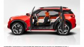 Citroen Aircross concept official image side view with open doors
