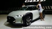 Hyundai Enduro Concept front quarter at the Seoul Motor Show 2015