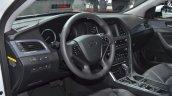 Hyundai Sonata Hybrid interior at Auto Shanghai 2015