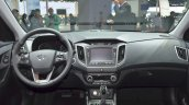 Hyundai ix25 dashboard at Auto Shanghai 2015