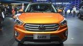 Hyundai ix25 front at Auto Shanghai 2015