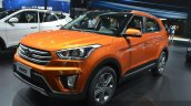 Hyundai ix25 front three quarter at Auto Shanghai 2015