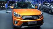 Hyundai ix25 front view at Auto Shanghai 2015