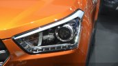 Hyundai ix25 headlamp at Auto Shanghai 2015