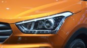 Hyundai ix25 headlight at Auto Shanghai 2015