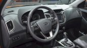 Hyundai ix25 interior at Auto Shanghai 2015