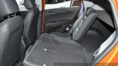 Hyundai ix25 rear seat folded down at Auto Shanghai 2015