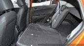 Hyundai ix25 rear seat folded down at Auto Shanghai 2015