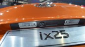 Hyundai ix25 reverse camera at Auto Shanghai 2015