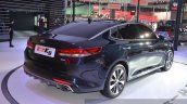Kia K5 rear three quarter at Auto Shanghai 2015