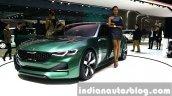 Kia Novo Concept front quarter at the Seoul Motor Show 2015