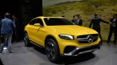 Mercedes Concept GLC Coupe front three quarter left in Shanghai