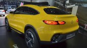 Mercedes GLC Coupe Concept rear three quarter at Auto Shanghai 2015