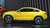 Mercedes GLC Coupe Concept side at Auto Shanghai 2015