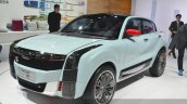 Qoros 2 SUV Concept front three quarter at Auto Shanghai 2015