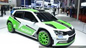 Skoda Fabia R5 front angle at Auto Shanghai 2015