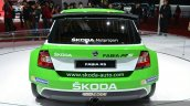 Skoda Fabia R5 rear view at Auto Shanghai 2015