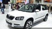 Skoda Yeti LWB front angle at Auto Shanghai 2015